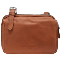 Liebeskind Maike 6 Leather Vintage Across Body Bag Congac