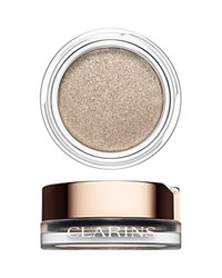 Clarins Ombre Iridescent Cream To Powder Eyeshadow 04 Silver Ivory