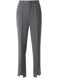 G.V.G.V. Slit Hem Trousers Grey