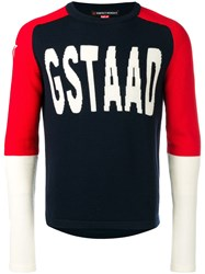 Perfect Moment Gstaad Sweater Blue