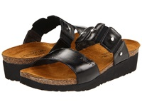 Naot Footwear Ashley Black Madras Leather Women's Sandals