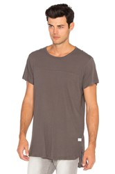 Stampd Chamber Scallop Tee Grey