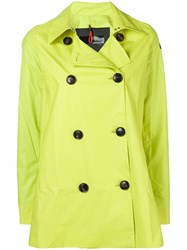 Rrd Short Trench Coat Green