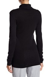 Michael Stars Solid Turtleneck Sweater Black