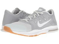 Nike Zoom Train Complete Wolf Grey White Pure Platinum Gum Medium Brown Men's Cross Training Shoes Gray
