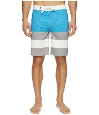 Vans Era Stretch Boardshorts 20 Imperial Blue Frost Grey Men's Swimwear