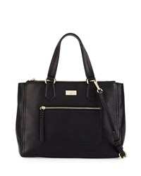 Cole Haan Ellie Leather Satchel Bag Black