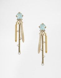 Coast Lettie Long Line Earrings Gold
