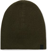 Rag And Bone Ace Cashmere Beanie Green