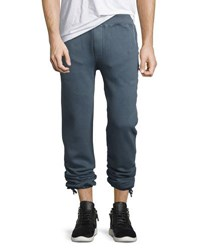 Faherty Rustic Fleece Sweatpants Navy
