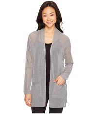 Lole Marnie Cardigan Medium Grey Heather Women's Sweater Gray