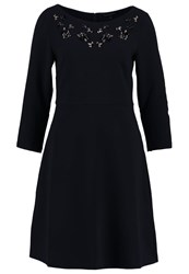 Banana Republic Cocktail Dress Party Dress Preppy Navy Dark Blue