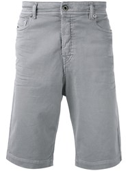 Diesel Black Gold Classic Chino Shorts Grey