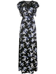 Veronica Beard Padma Floral Print Maxi Dress 60