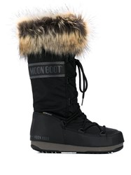 Moon Boot Fur Trimmed Snow Boots 60