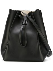 Maison Martin Margiela Structured Bucket Bag Black