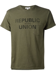 Engineered Garments 'Republic Of The Union' T Shirt