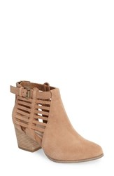Sole Society Women's Ash Bootie Caramel Suede