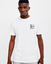 The Hundreds Old H Paisley T Shirt White