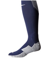 Nike Stadium Football Otc Midnight Navy White White Men's Knee High Socks Shoes