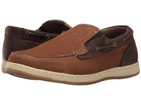 Nunn Bush Sloop Slip On Boat Shoe Camel Brown Men's Slip On Shoes Tan