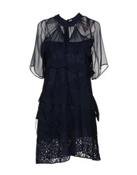 Ndegree 21 Short Dresses Dark Blue