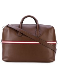 Bally Merton Weekender Tote Men Leather One Size Brown