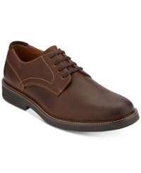 Dockers Men's Parkway Leather Oxfords Men's Shoes Dark Brown