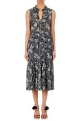 Ulla Johnson Gauze Butkit Maxi Dress Black