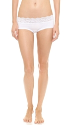 Cosabella Ever Low Rise Hot Pants White