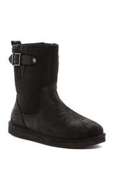Ugg Guthrie Genuine Lamb Fur Lined Boot Black