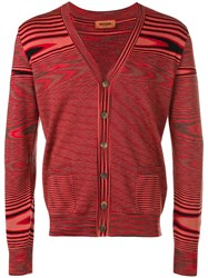 Missoni Zipped Sweater Red