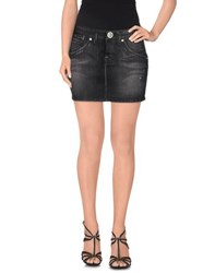 S.O.S By Orza Studio Denim Denim Skirts Women Black