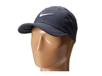 Nike Heritage Df Twill Adjustable Cap Obsidian Black White Caps Navy