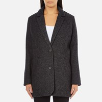 Levi's Women's Wool Cocoon Coat Bleached Wool