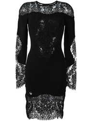 Philipp Plein 'It Wasn't Me' Dress Black