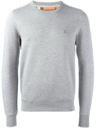 Burberry Crew Neck Sweatshirt Grey