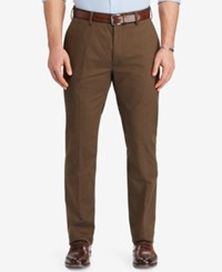 Polo Ralph Lauren Men's Big And Tall Stretch Classic Fit Chino Pants Brown