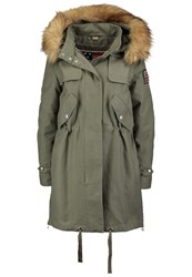 True Religion Parka Mood Green Khaki