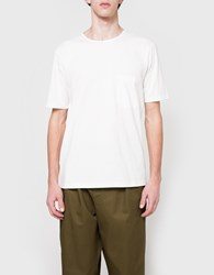 Christophe Lemaire Pocket Tee Shirt In Chalk