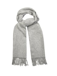 Acne Studios Canada Wool Scarf Light Grey