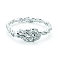 Chupi Forget Me Knot Ring In Silver