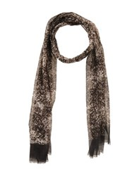 Lanvin Accessories Oblong Scarves Men Dark Brown