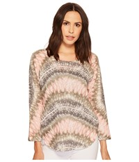 Nally And Millie Long Sleeve Tie Dye Top Multi Clothing