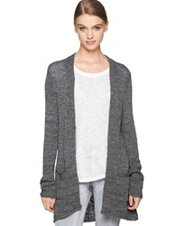 Calvin Klein Jeans Open Tape Yarn Cardigan Ebony