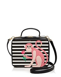 Kate Spade New York Monkey Casie Leather Satchel Multi