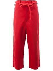 Toogood The Sculptor Trousers Red