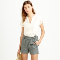 J.Crew Drapey Belted Pull On Short