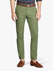 Ralph Lauren Polo Slim Fit Stretch Cotton Trousers Army Olive
