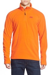 Men's Helly Hansen 'Daybreaker' Half Zip Fleece Jacket Magma